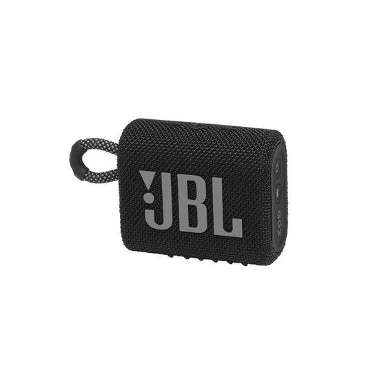 Caixa De Som Jbl Go 3 Portátil Com Bluetooth - Preto