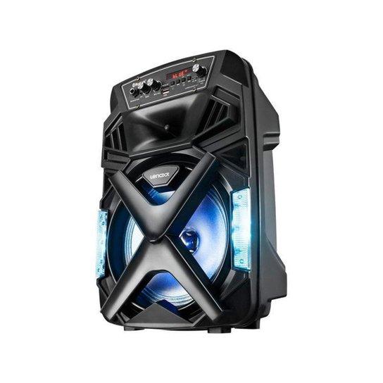 Caixa de Som Lenoxx CA101 Bluetooth Portátil - Preto