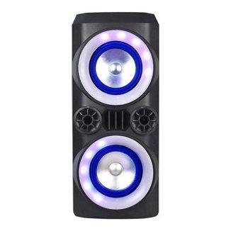 Caixa de Som Mini Torre Neon X 300W BT/AUX/USB/FM SP379