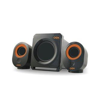 Caixa de Som OEX Speaker Booster 30W SK500 - Preto