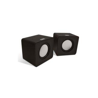 Caixa de Som OEX Speaker Cube USB SK102 - Preto