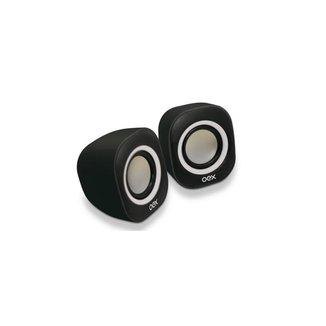 Caixa de Som OEX Speaker Round SK100 - Preto/Bran