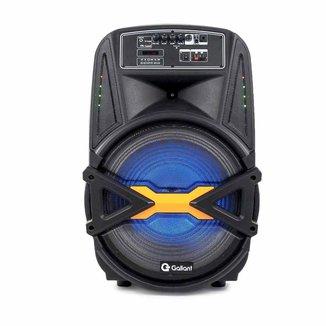 Caixa de Som Portátil Gallant 380 com Bluetooth 4.2 Bivolt