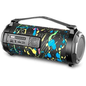 Caixa de Som Portátil Pulse I SP361 - Bluetooth, USB, SD e Rádio FM - Bateria de até 8 Horas - 80W