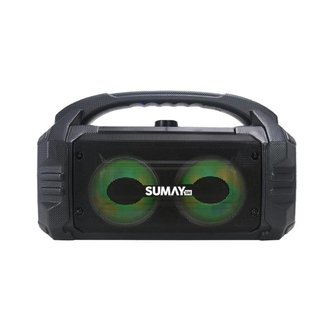 Caixa de Som Portátil Sumay SM Sunbox 50W - SW-CS