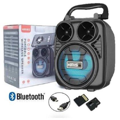 Caixa de Som Portátil Wireless Bluetooth Kimiso KMS-1182