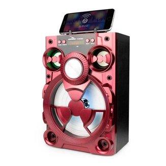 Caixa de Som Speaker Bluetooth Rádio Entrada Pendrive e Micro SD Potência 15W