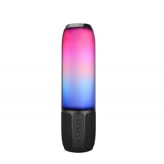 Caixa De Som Speaker Multilaser Flash 15W BT/AUX/USB/SD - SP349 - Preto