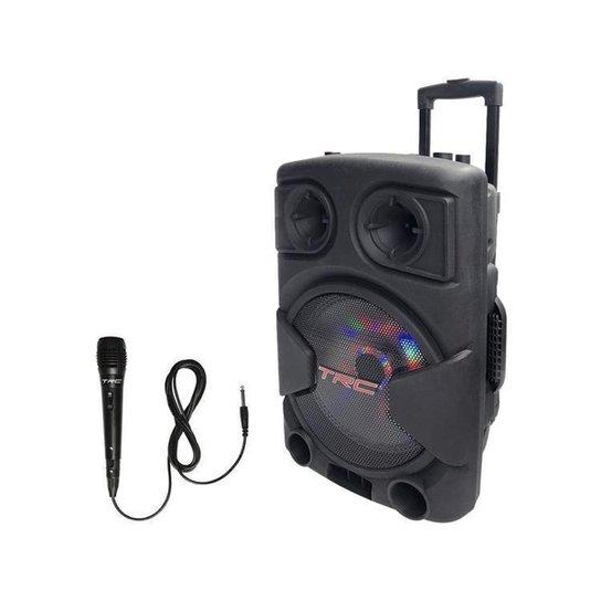 Caixa de Som TRC Fitbox High Power 5545 Bluetooth - Preto