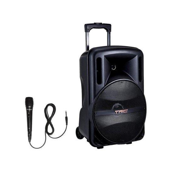 Corpo e banho TRC Fitbox High Power 5590 Bluetooth - Preto