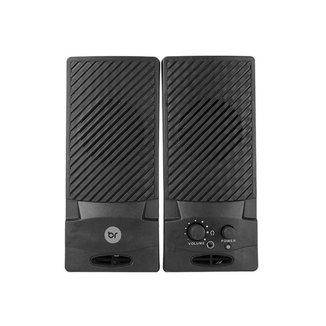 Caixa de Som Usb e P2 Para Computador Speaker 58 Bright