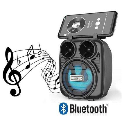 Caixa Portátil de Som Wireless Bluetooth KMS-1182