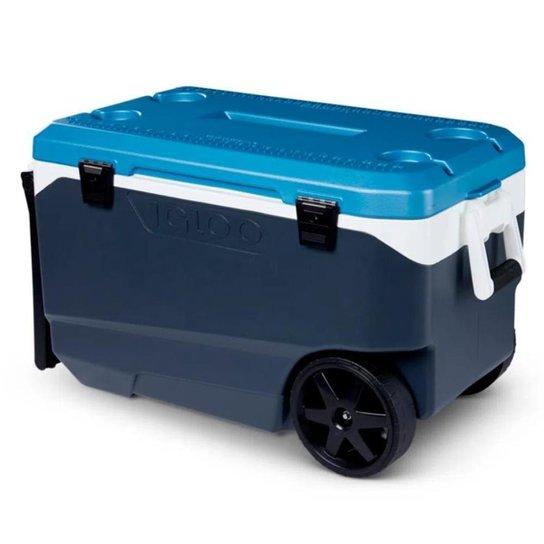 Caixa térmica Igloo Maxcold Latitude Roller - Azul