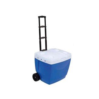 Caixa Térmica Mor 42L com roda e Alça transporte - Azul