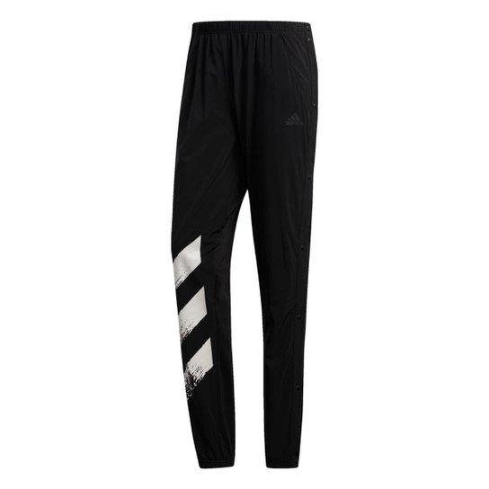 Calça Adidas Decode Masculina - Preto+Branco