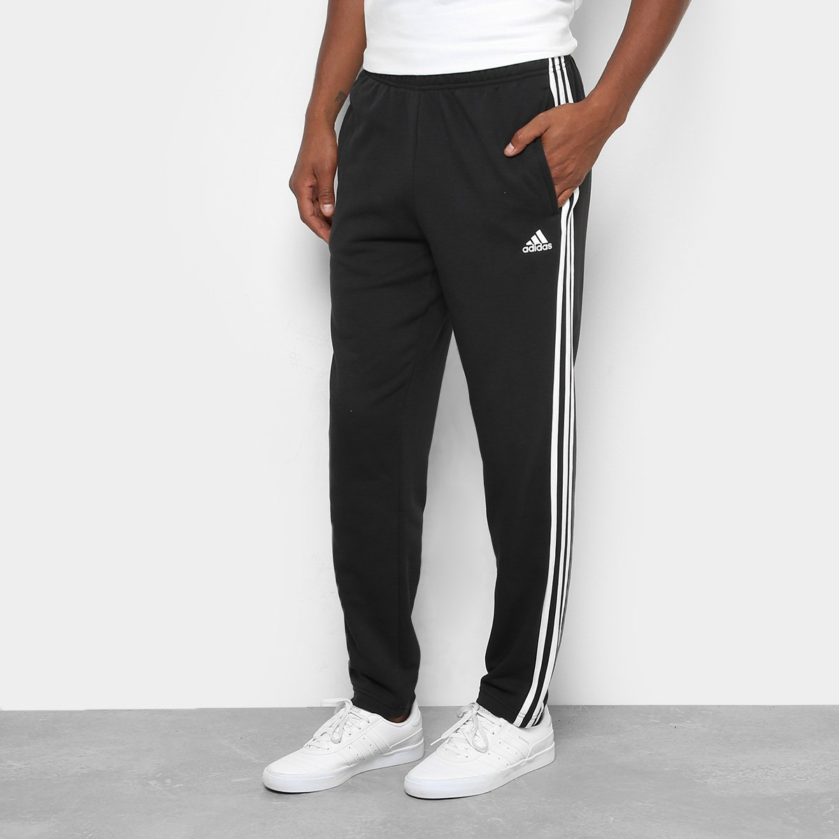 e4949431b Calça Adidas Ess 3S Coft Masculina   Netshoes