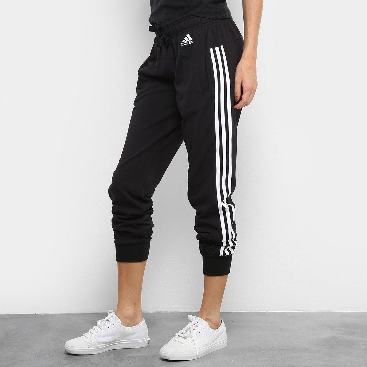 ddcdcb4b71548 Calça Adidas Ess 3S SJ PT Feminina - Compre Agora