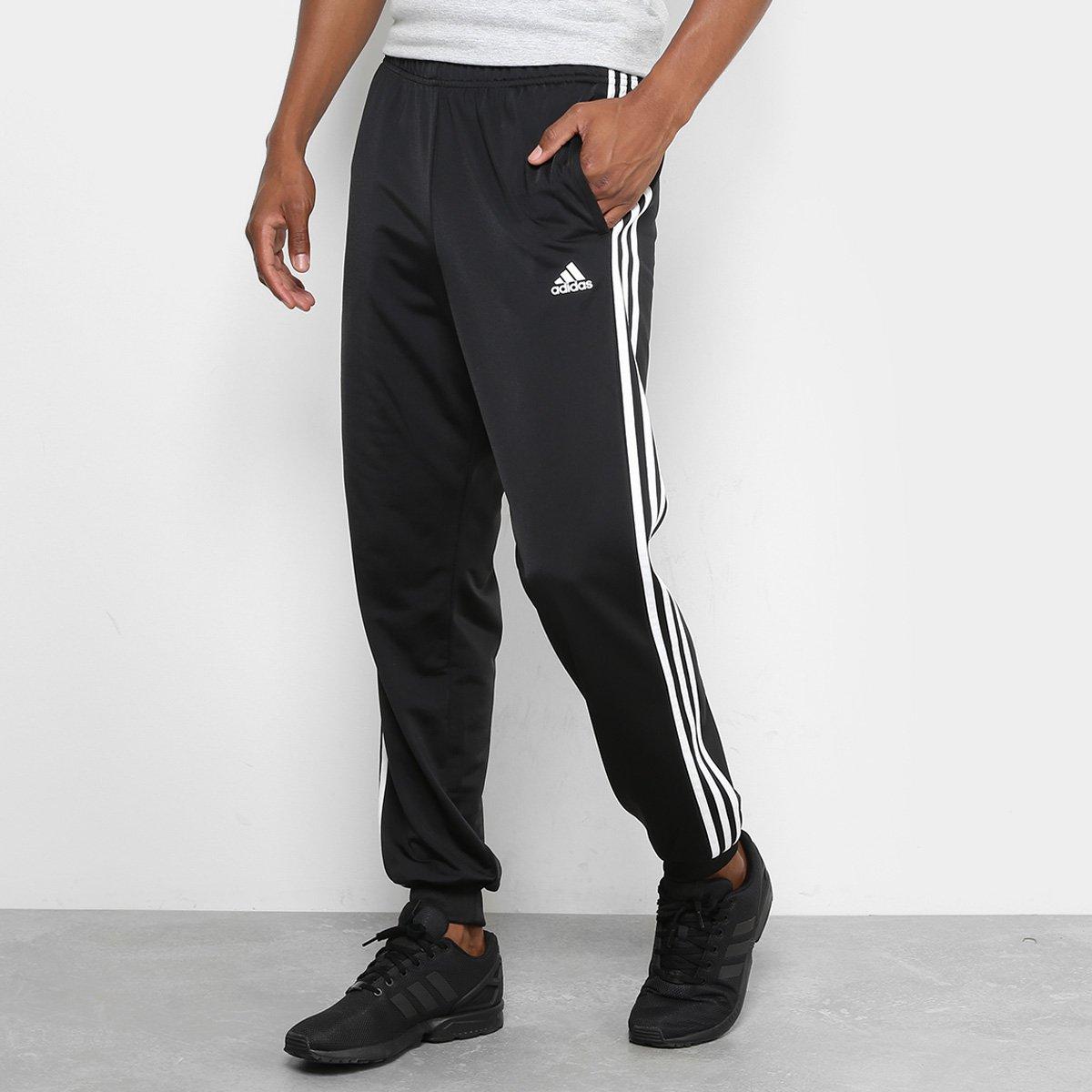 ebab86b533fff Calça Adidas ESS 3S T Tricot Masculina - Compre Agora
