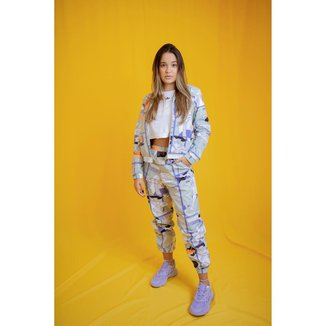 Calca Adidas Originals Ryv Estampada feminina
