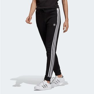 Calca Adidas Regular Preta Mulher
