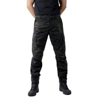 Calça  Bélica Combat Multicam Black Masculina