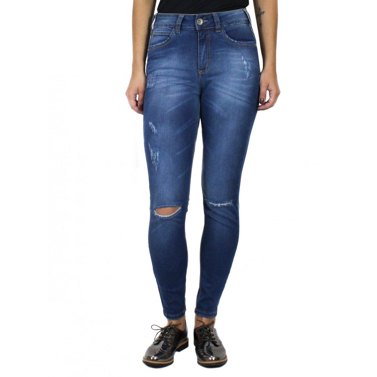 707b951a5 Calça Bia Colcci Skinny Cintura Alta - Compre Agora