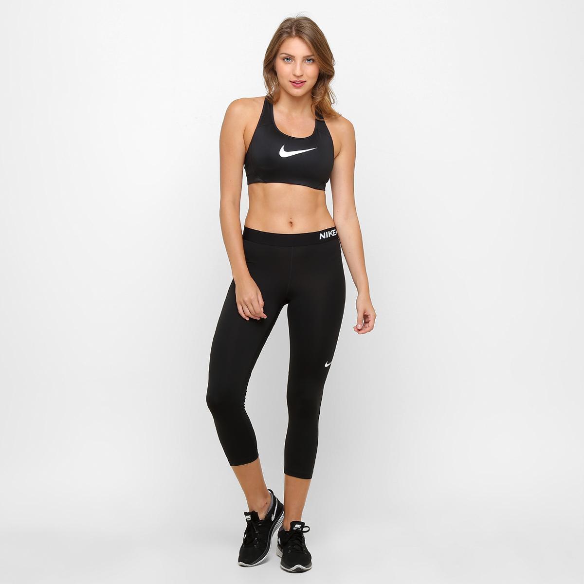 Calça Capri Nike Pro Cool Feminina - Compre Agora  bd9c48f717ac4