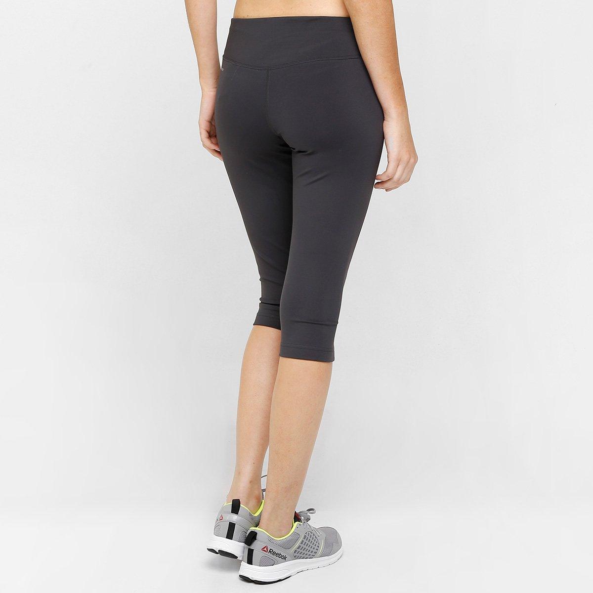 Feminina Race Capri Chumbo Proteção Calça Spartan UV Com Reebok 7Bfwwq