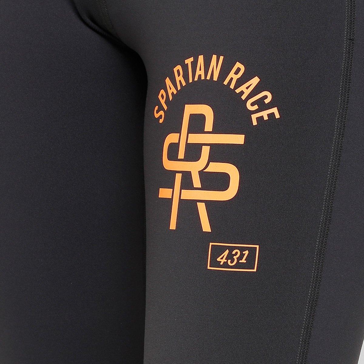 Feminina Spartan Com Proteção UV Chumbo Reebok Race Calça Capri q6p0g0