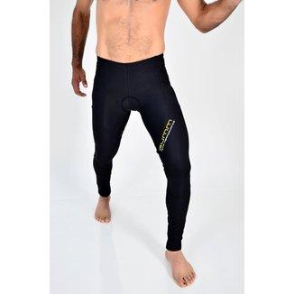 Calça De Compressão Gumm Multisport Run Black Masculina