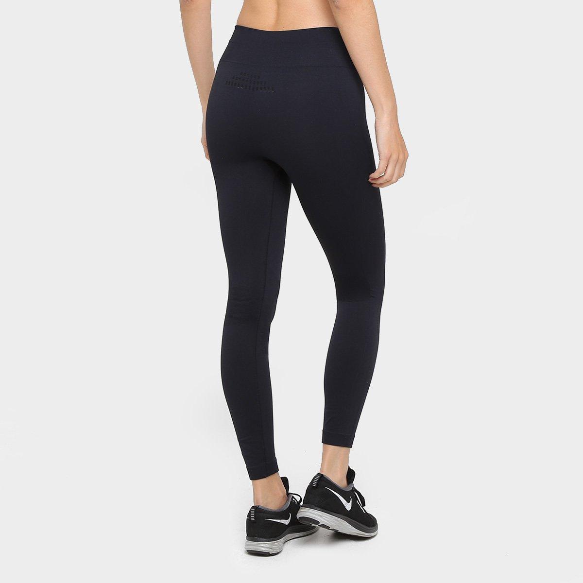 Lupo Calça Run de Feminina X de Calça Compressão Sport Preto 1IFv6q
