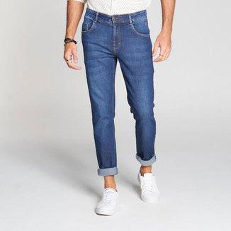 Calça Docthos Jeans Escuro Fit 165 JEANS ESCURO 46