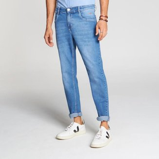 Calça Docthos Jeans Medio Slim 164 JEANS MEDIO 46