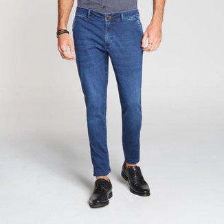 Calça Docthos Jeans T-400 Slim 165 JEANS ESCURO 50