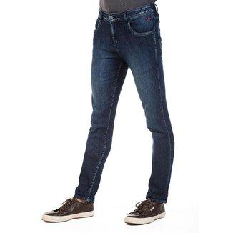 Calça Docthos Jeans Vintage Escura Fit 165 JEANS ESCURO 40