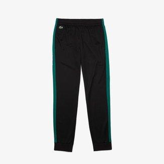 Calça esportiva masculina Lacoste SPORT em piqué resistente