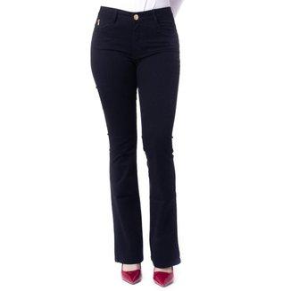 Calça Feminina Flare Visual Jeans