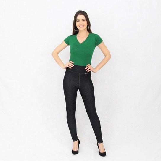 Calça Flex Jeans Montaria Black - Preto