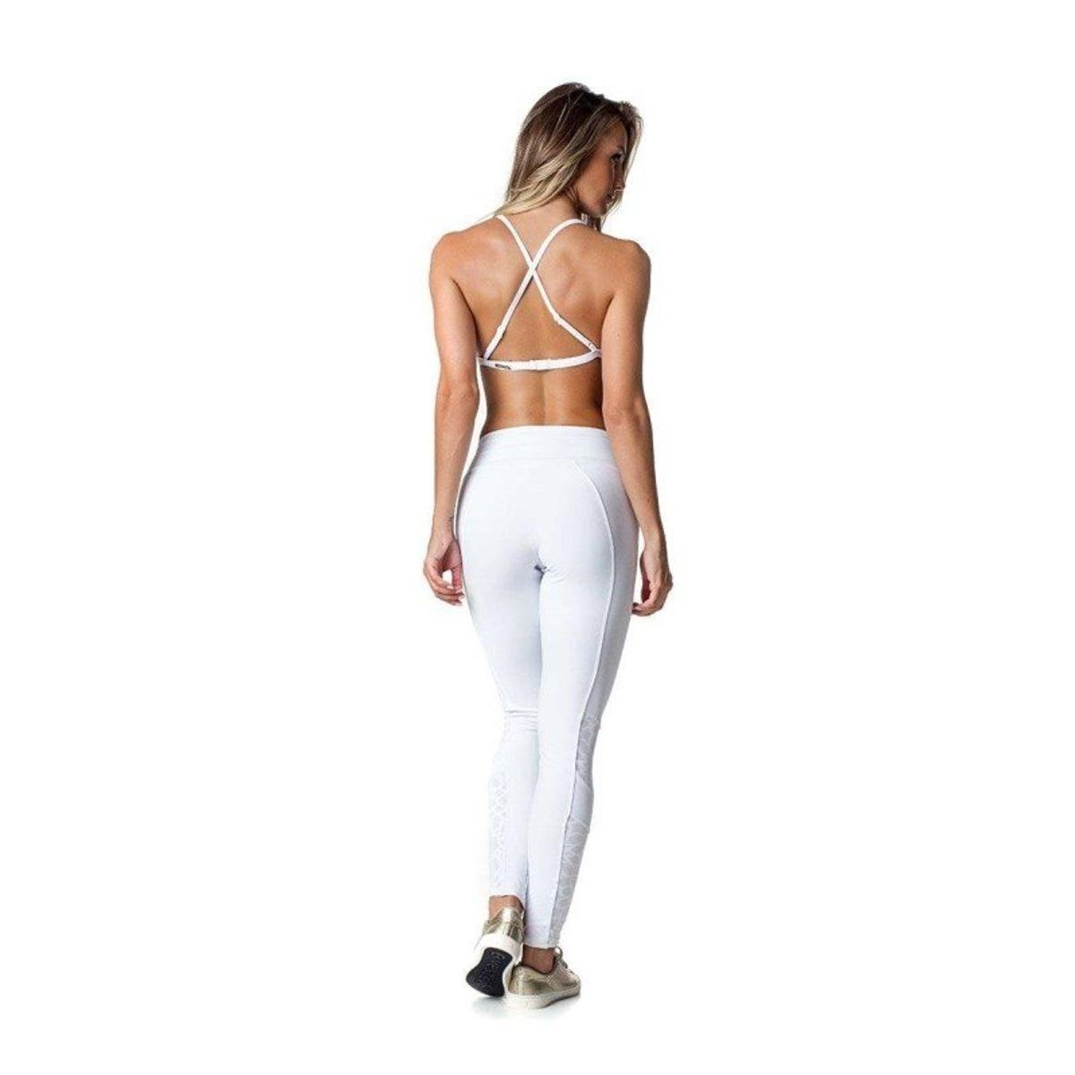 Vestem Calça Fuso Calça Fuso Branco Mandala 383 Xq6nxC