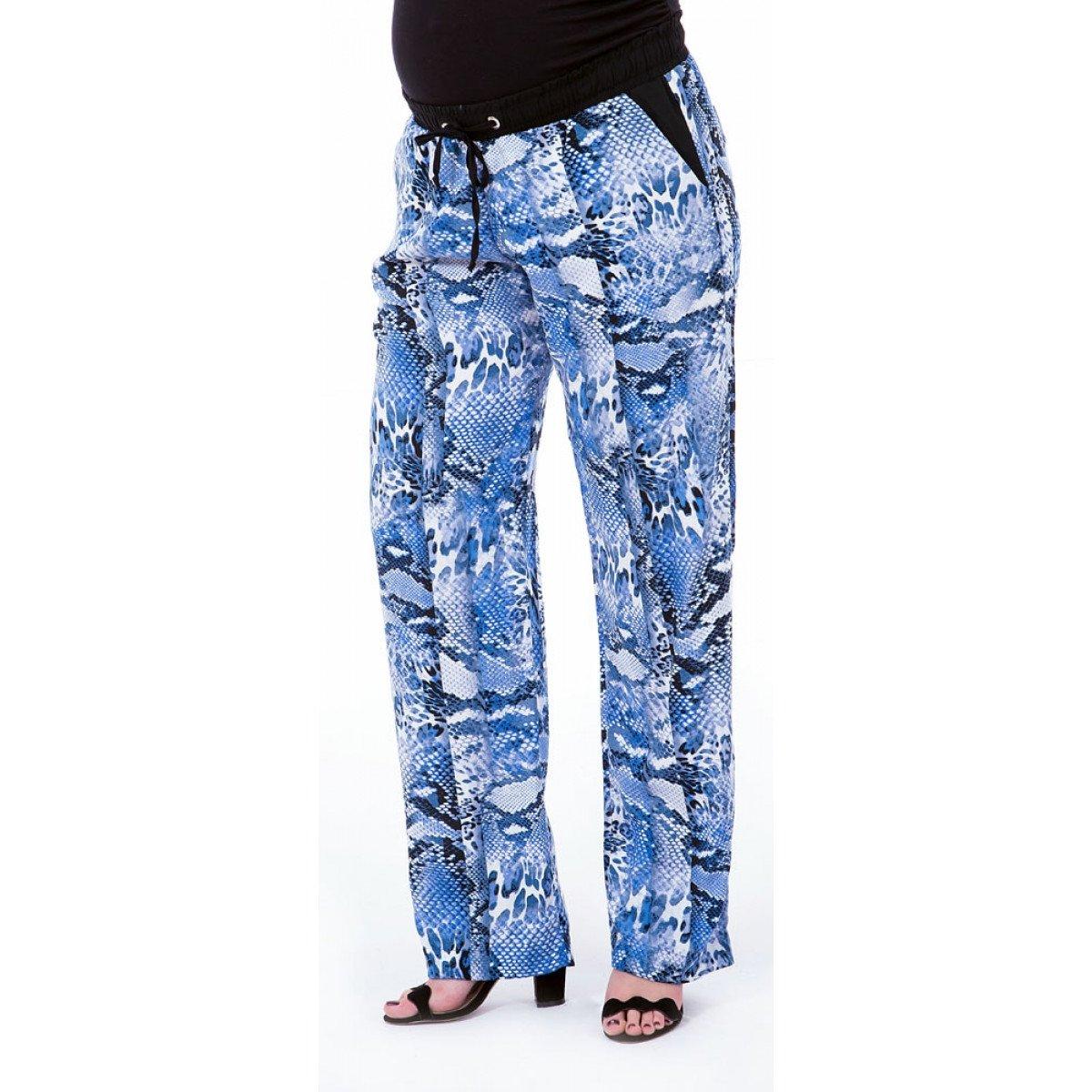 7bd87a822 Calça Gestante Pijama Viscose Estampada   Netshoes