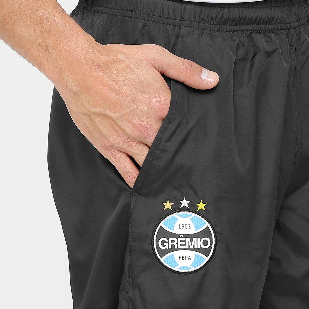 Calça Grêmio Umbro Viagem Masculina - Chumbo e Azul - Compre Agora ... 5b2ae2bebd836