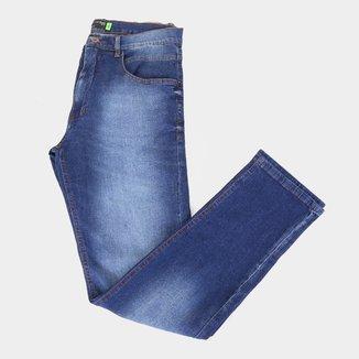 Calça Hd Jeans Plus Size Estonada Ly Masculina