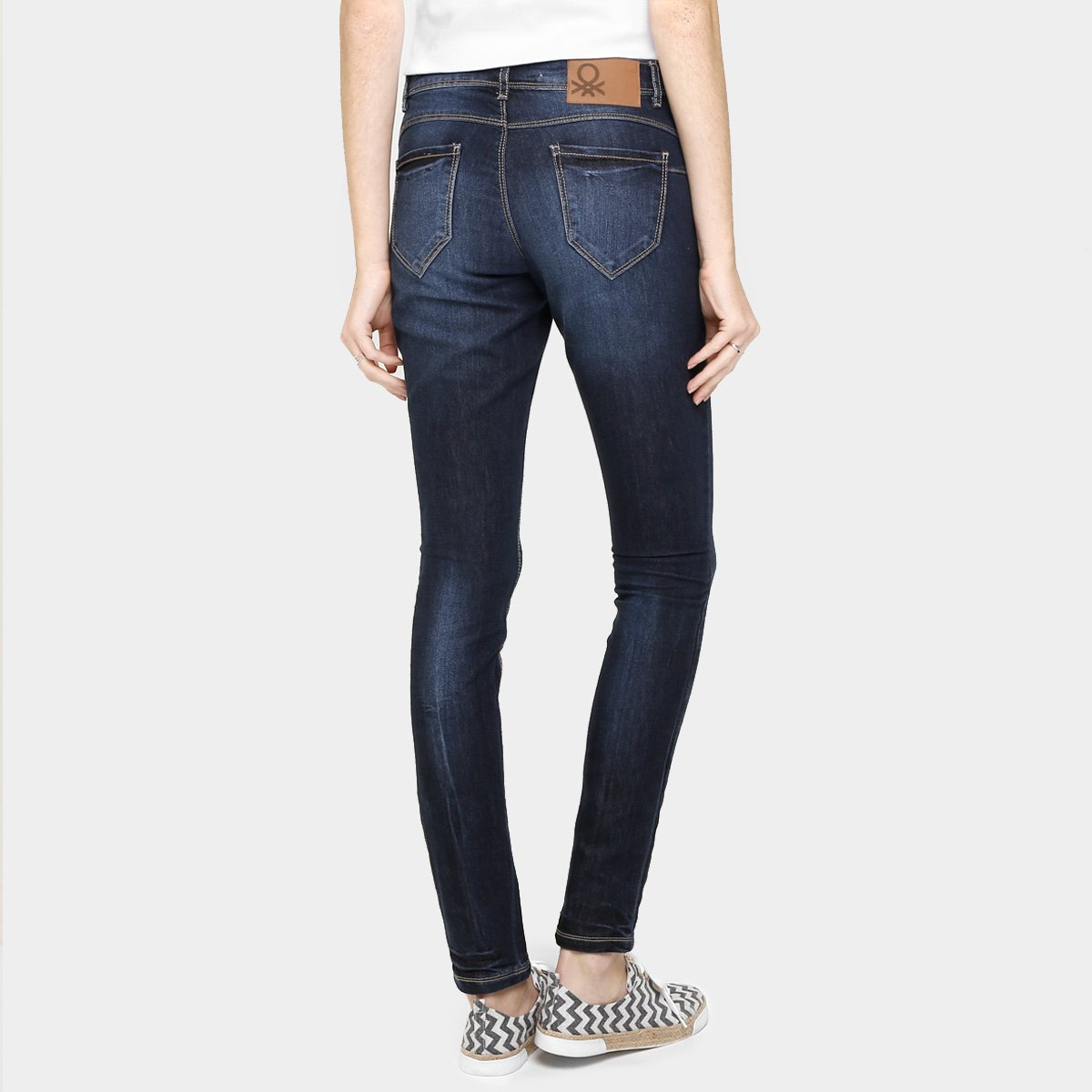 716049aa98 Calça Jeans Benetton Skinny Estonada  Calça Jeans Benetton Skinny Estonada  ...