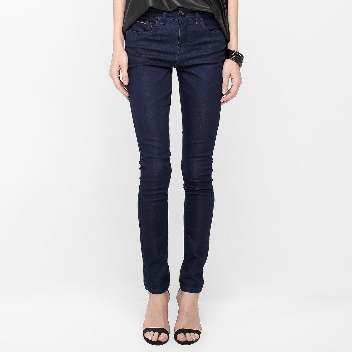 Calça Jeans Calvin Klein Jegging High - Compre Agora   Netshoes 8a60daf949
