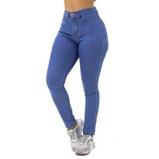 Calça Jeans Cigarrete Básica Feminina Ecxo