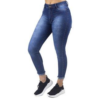 Calça Jeans Cigarrete Feminina No Alcance