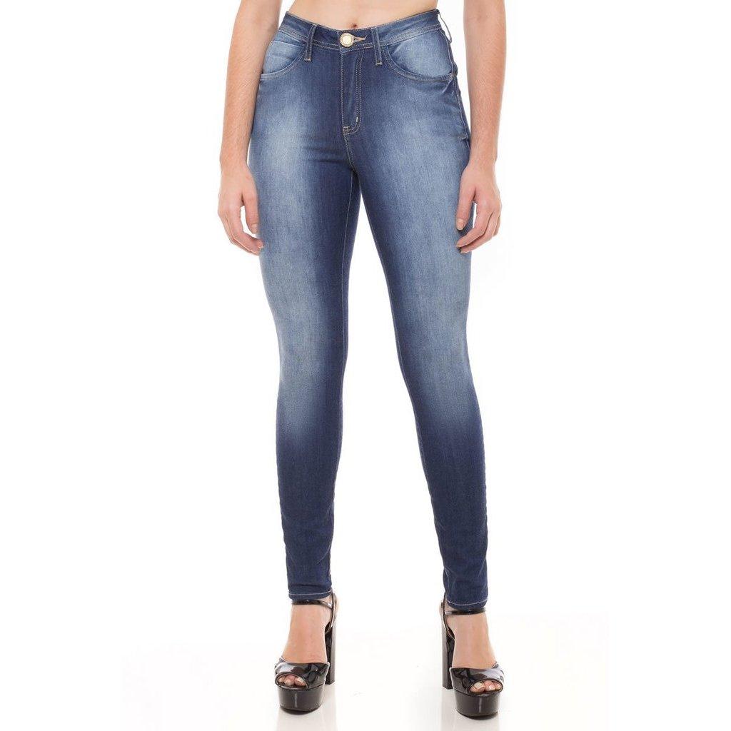 Rise Calça Cigarrete Jeans Jeans Skinny Cigarrete Jeans Mid Calça Eventual Feminina 5SYqgxHq