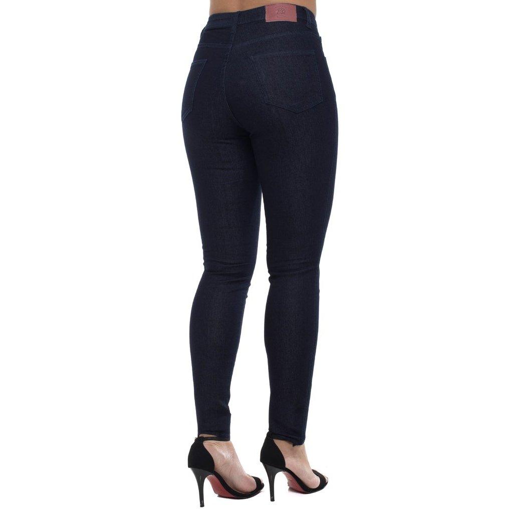Mid Cigarrete Z Feminina Marinho Calça Rise Skinny Jeans 32 B1EqTE
