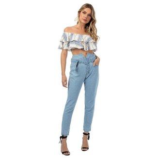 Calça Jeans Clochard TNG Feminina
