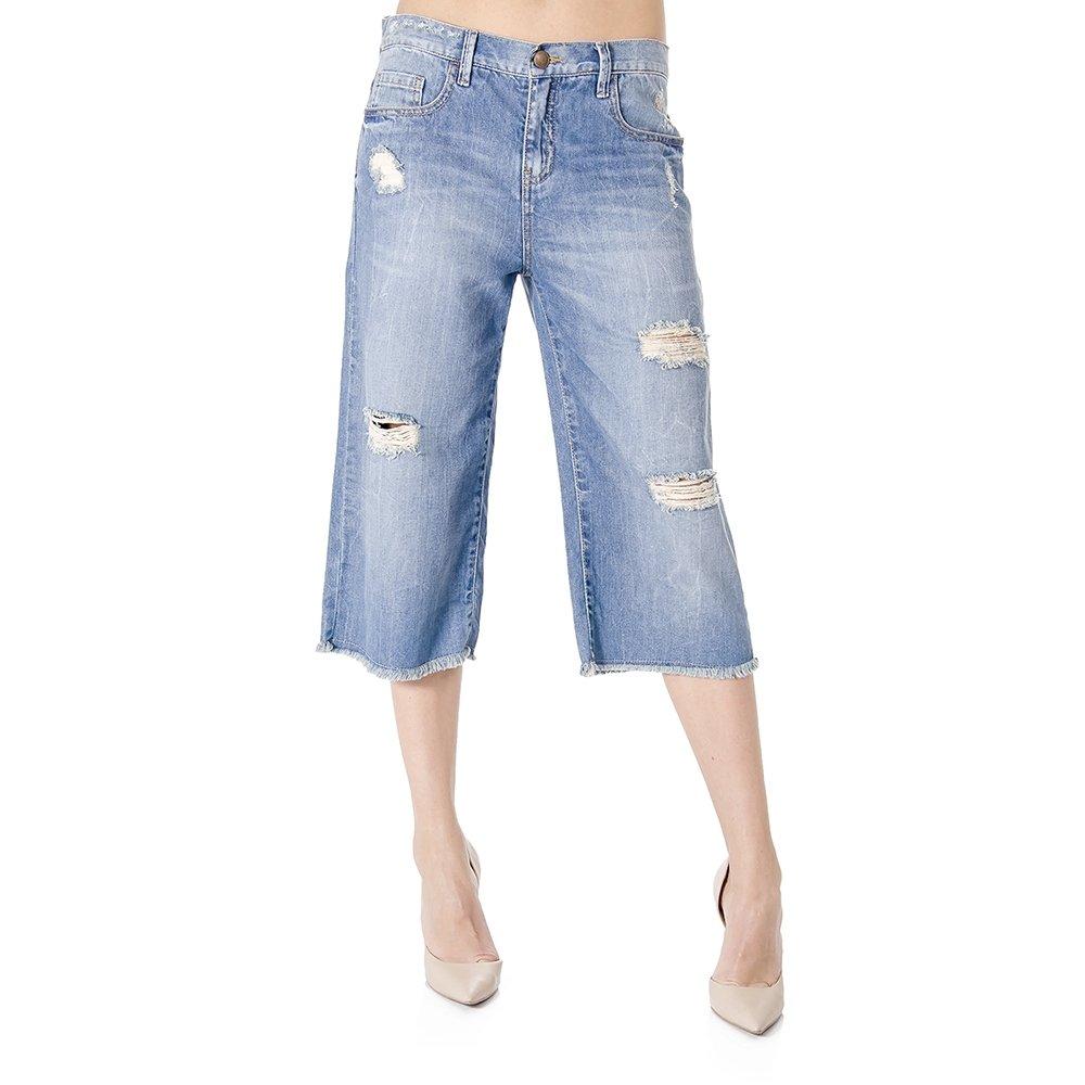 dbf3d924ae Calça Jeans Cropped Cantão - Compre Agora